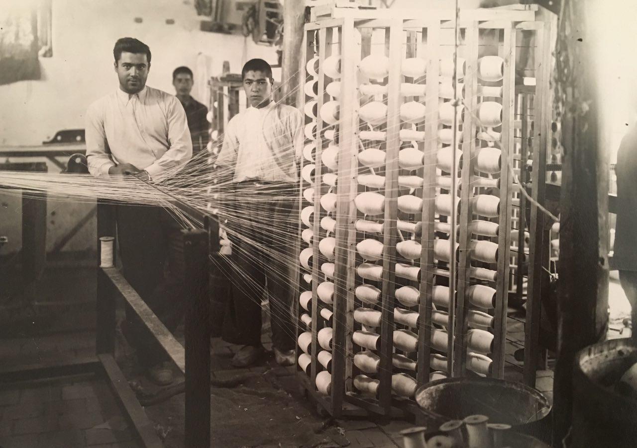 حوله برق لامع، قدیمی ترین حوله ایرانی- کارخانه حوله برق لامع، قدیمی ترین حوله ایران 1310