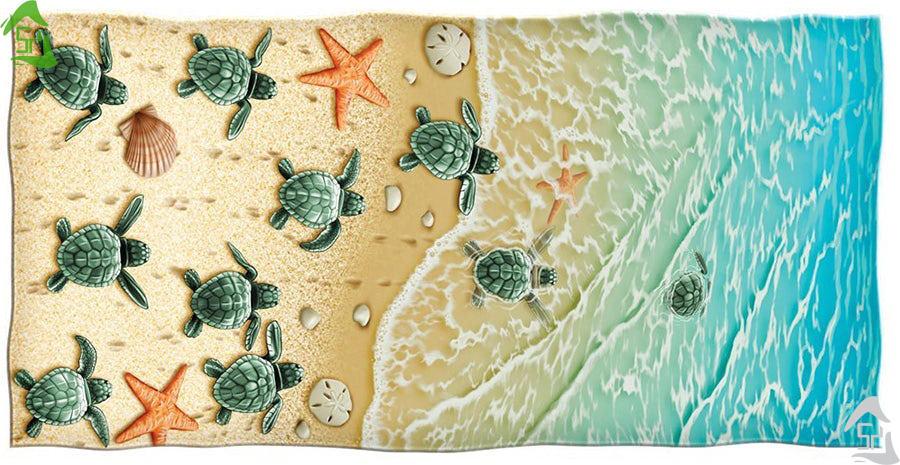 9 طراحی برتر حوله های ساحلی و استخری