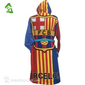 نمونه حوله تن پوش طرح ورزشی بارسلونا shikopikhome.com