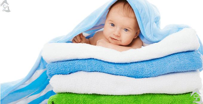 چگونه بهترین حوله را برای نوزادان انتخاب کنیم