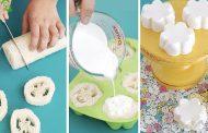 با لوفا به راحتی صابون بسازید