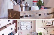 6 راه حل خلاقانه برای آشپزخانه های کم جا