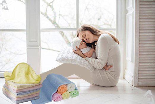 حوله بامبو کلاهدار نوزاد تولید برند Naturcute