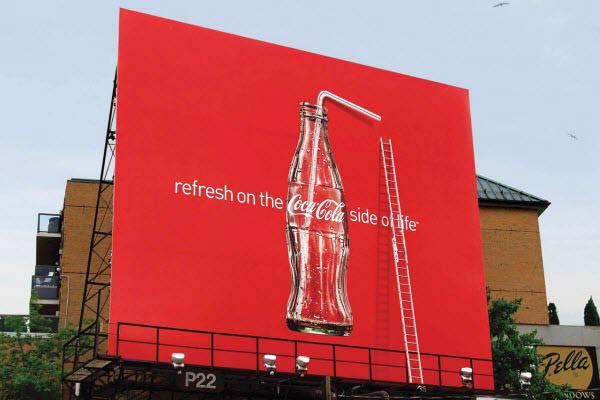 تبلیغات خلاقانه کوکاکولا