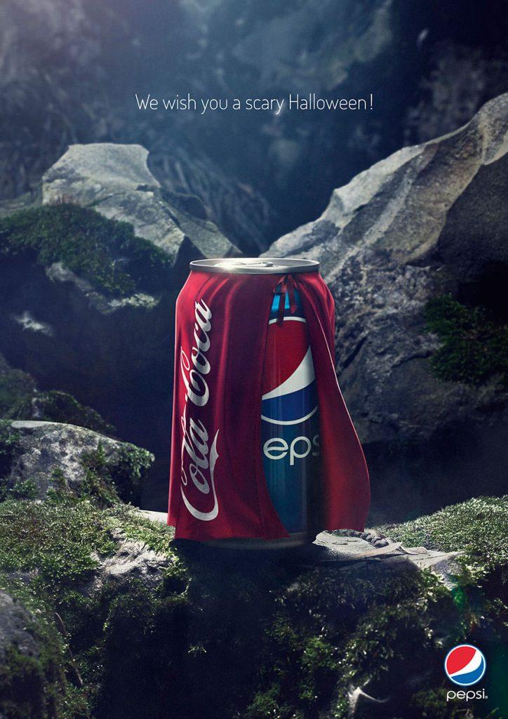 نمونه تبلیغات بنری پپسی