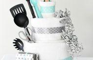کیک حوله ای؛ ساختن هدیه ای شگفت انگیز برای عروس