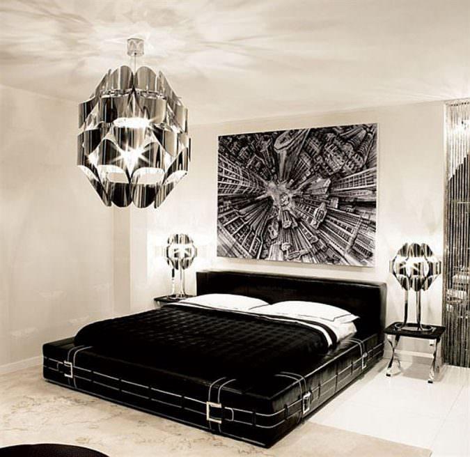 طراحی کلاسیک-ترکیب رنگ سیاه و سفید