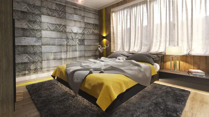 بهم ریختگی بر پایه اصولی-دکوراسیون اتاق خواب-چیدمان اتاق خواب