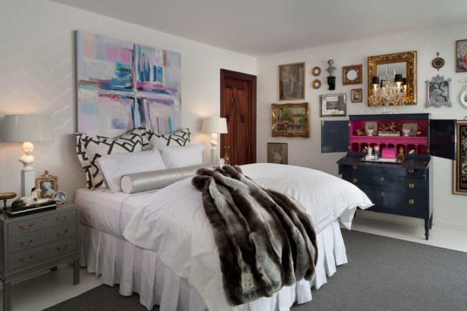 الگوهای ترکیبی مختلف-دکوراسیون اتاق خواب-چیدمان اتاق خواب