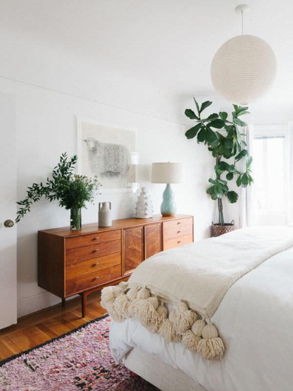 طراحی های میانه قرن 21-دکوراسیون اتاق خواب