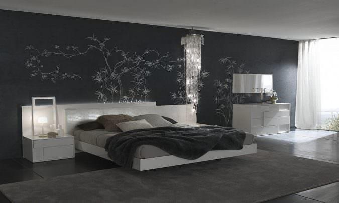 رنگ خاکستری در طراحی-دکوراسیون اتاق خواب