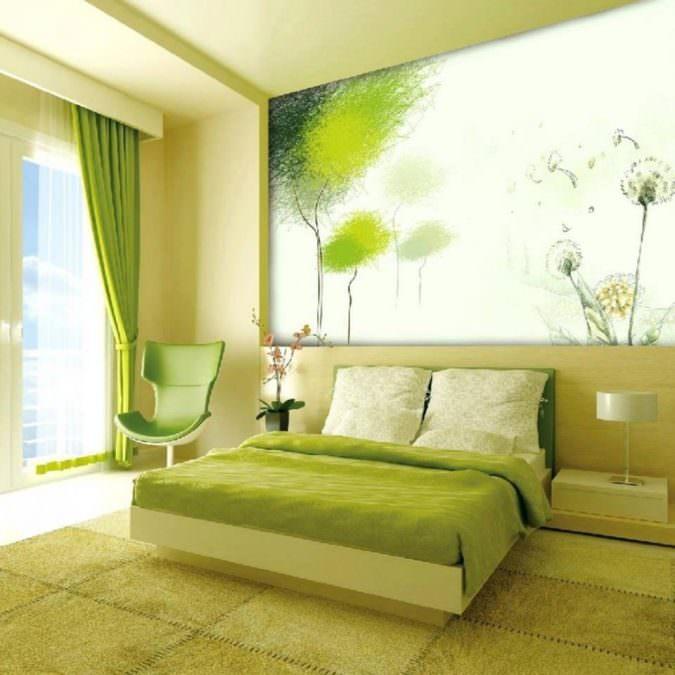 استفاده از رنگ سبز-دکوراسیون