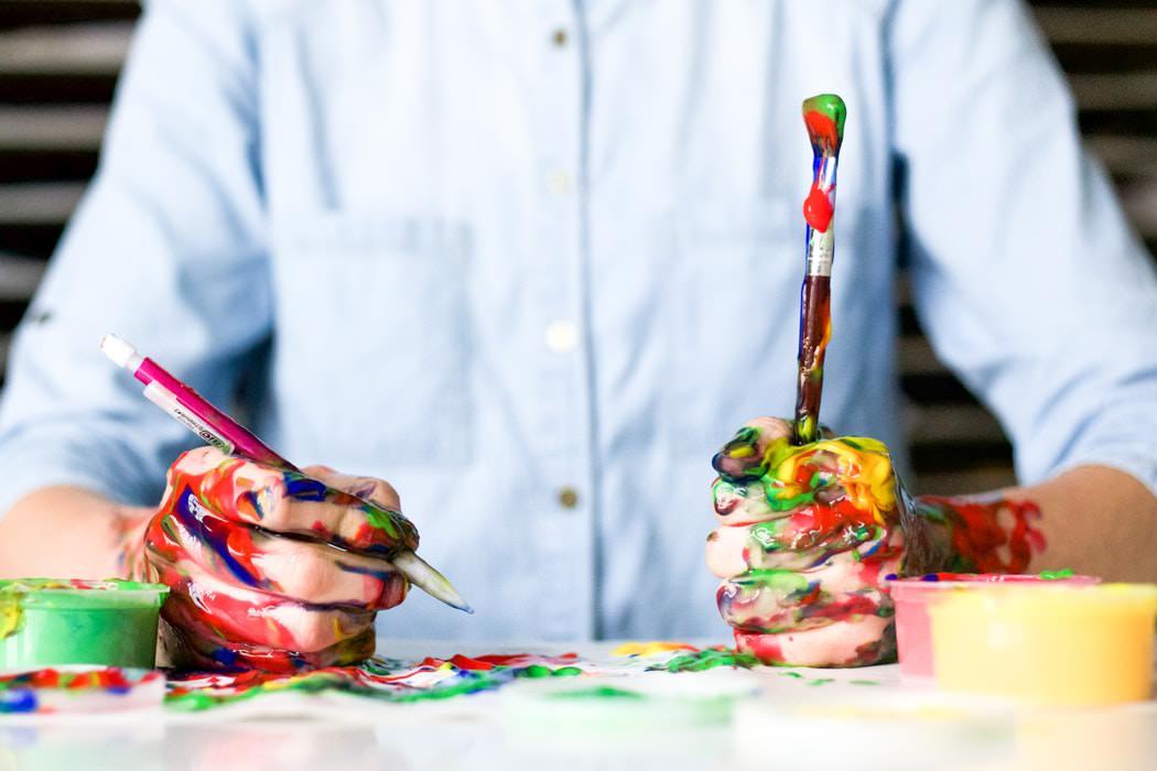 از هنر خودتان استفاده کنید
