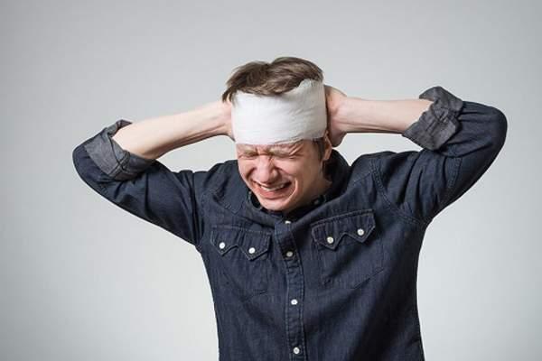 سردرد ناشی از وارد شدن جراحت به سر